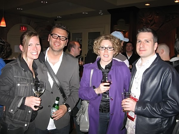 Wendy, Sean, Suzanne and Stephane