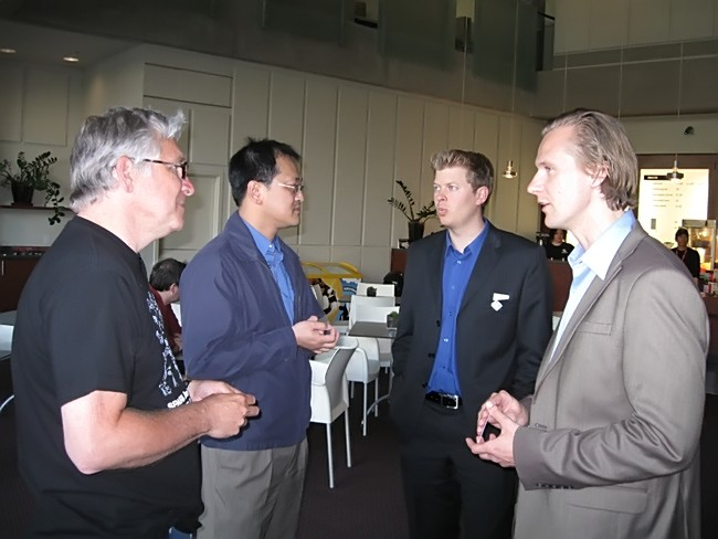 Larry, Earl and VEDC Representatives