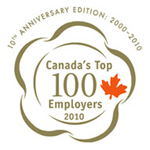 Canada's Top 100 Employers 2010