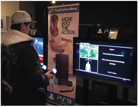 PS Move at the VFS Open House
