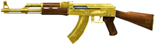Golden AK47