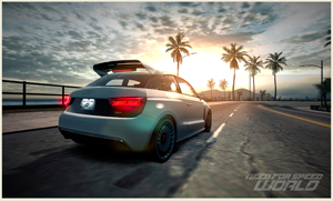 A1 clubsport quattro in-game