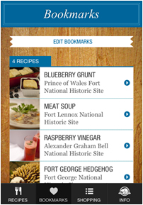 historic gourmet app
