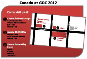 Canada at GDC 2012