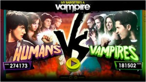 An older screenshot of Humans Vs Vampires